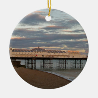 Brighton Palace Pier Christmas Ornament