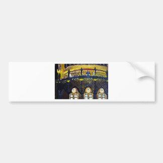 Brighton Pavilion by night Bumper Sticker