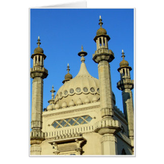 Brighton Pavilion Detail Card