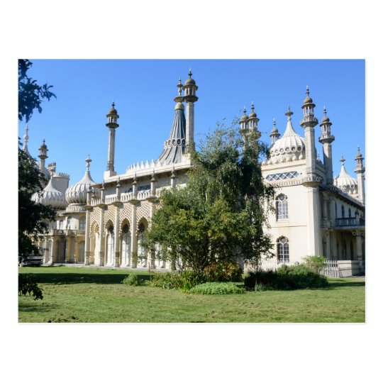 Brighton Pavilion England Postcard