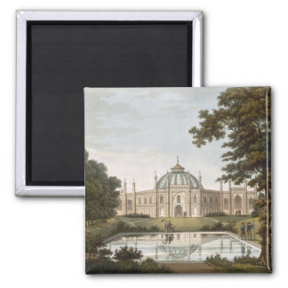 Brighton Pavilion: Proposed view of the garden wit Square Magnet