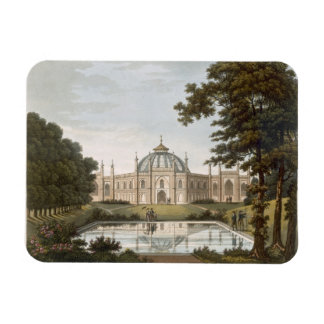 Brighton Pavilion Proposed view of the garden wit Rectangular Magnet
