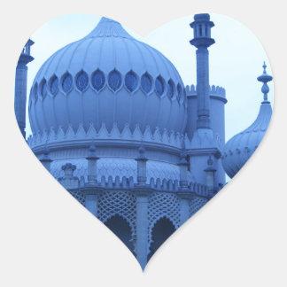 Brighton Pavillion Heart Sticker