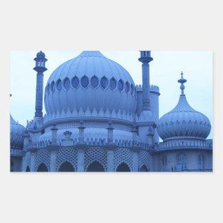 Brighton Pavillion Rectangular Stickers