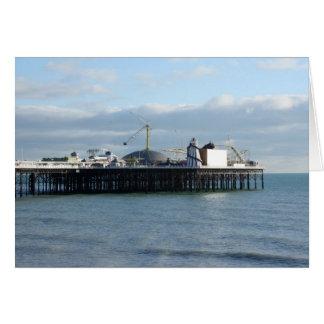 Brighton Pier Card