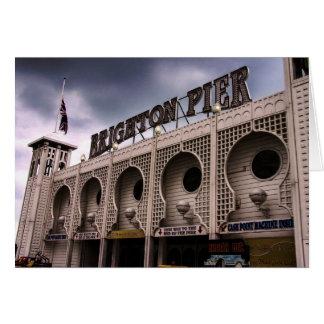 Brighton Pier front entry Card