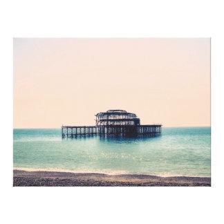 Brighton Pier on Canvas