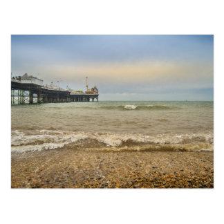 Brighton pier postcard