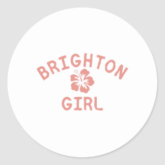 Brighton Pink Girl Stickers