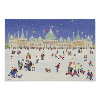 Brighton Royal Pavilion Poster