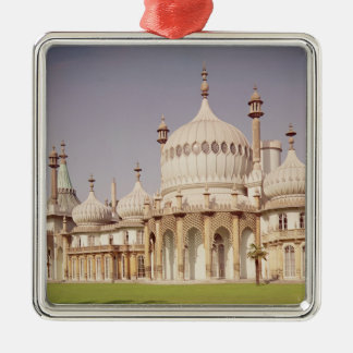 Brighton Royal Pavilion Silver-Colored Square Decoration