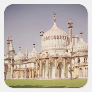Brighton Royal Pavilion Square Sticker