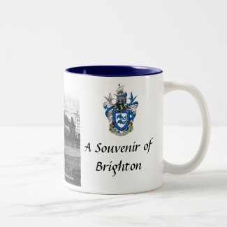 Brighton Souvenir Mug