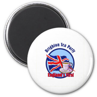Brighton Tea Party Magnet