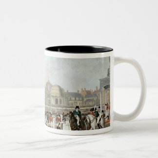 Brighton: The Old Pavilion and Steyne Two-Tone Coffee Mug