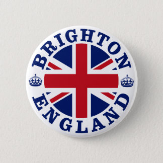 Brighton Vintage UK Design 6 Cm Round Badge