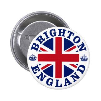 Brighton Vintage UK Design 6 Cm Round Badge