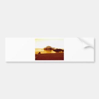 brighton west pier (07) bumper sticker