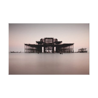 Brighton West Pier Canvas Print