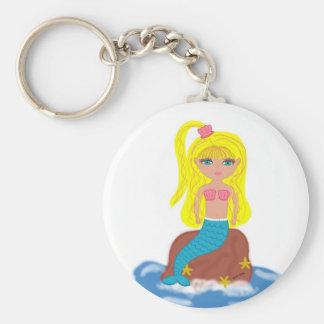 Brigit the Mermaid Keychain