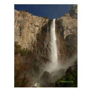 Briidal Veil Falls Yosemite Post Card