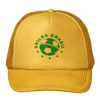 Brilha Brasil - Brazilian Soccer Cap