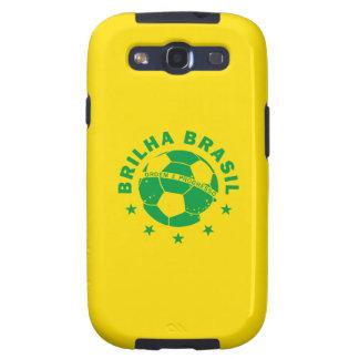 Brilha Brasil - Brazilian Soccer Galaxy S3 Cover
