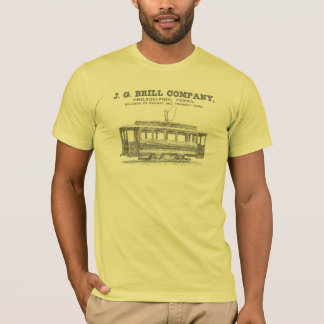 Brill Company Streetcars and Tramway Cars 1860 T-Shirt