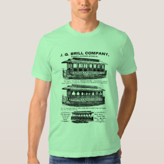 Brill Company Streetcars and Trolleys T-shirt