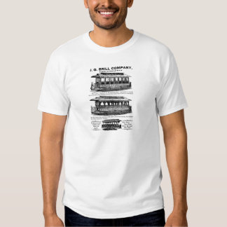 Brill Company Streetcars and Trolleys T Shirts