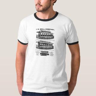 Brill Company Streetcars and Trolleys Tshirts
