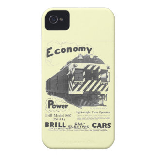 Brill Light-Weight  Passenger Train 1932 iPhone 4 Cases