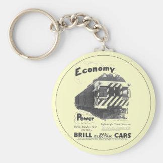 Brill Light-Weight  Passenger Train 1932 Keychains