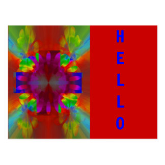 Brilliance Cross Postcard