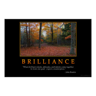 Brilliance Poster