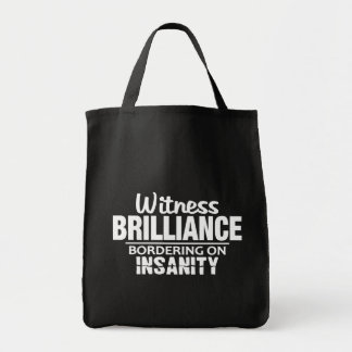 BRILLIANCE VS INSANITY bag – choose style, color
