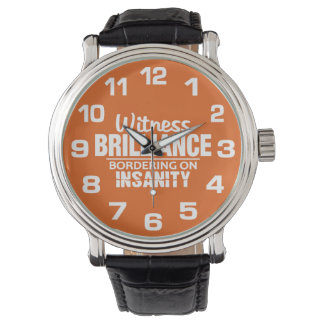 BRILLIANCE VS INSANITY custom color watches