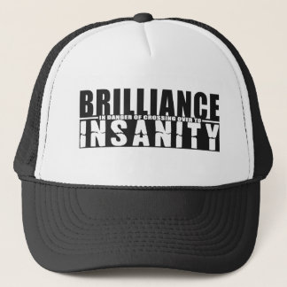 BRILLIANCE VS INSANITY hat - choose color