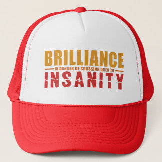 BRILLIANCE VS INSANITY hat - choose style & color