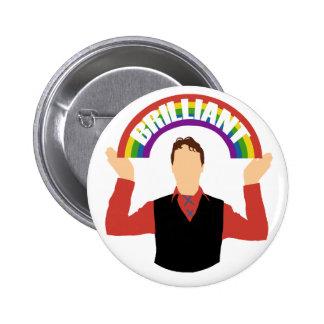 Brilliant! 6 Cm Round Badge