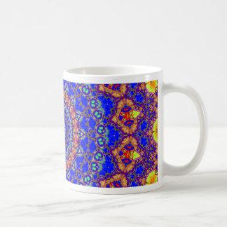Brilliant Azure Blue Mandala Coffee Mug