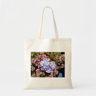 Brilliant blue and purple Hydrangea flowers Tote Bag