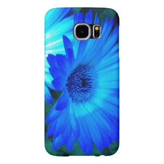 Brilliant Blue Daisy Galaxy S6 case