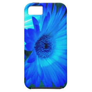 Brilliant Blue Daisy iPhone 5 case