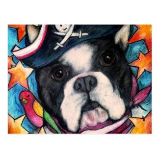 Brilliant Bulldog Postcard