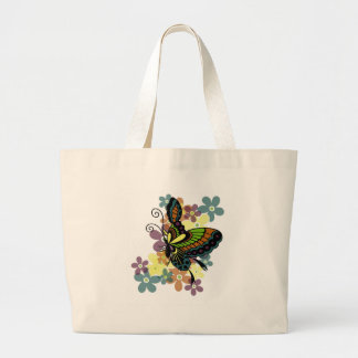 Brilliant Butterfly Jumbo Tote Bag