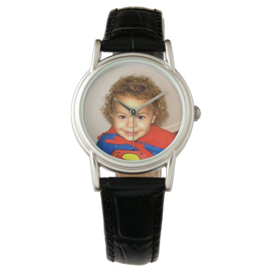 Brilliant Colour Custom Photo Watch