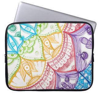 Brilliant Dream Laptop Sleeve By Megaflora
