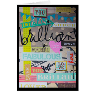 Brilliant & Fabulous card