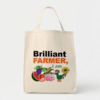 """Brilliant Farmer"" Tote Bag"